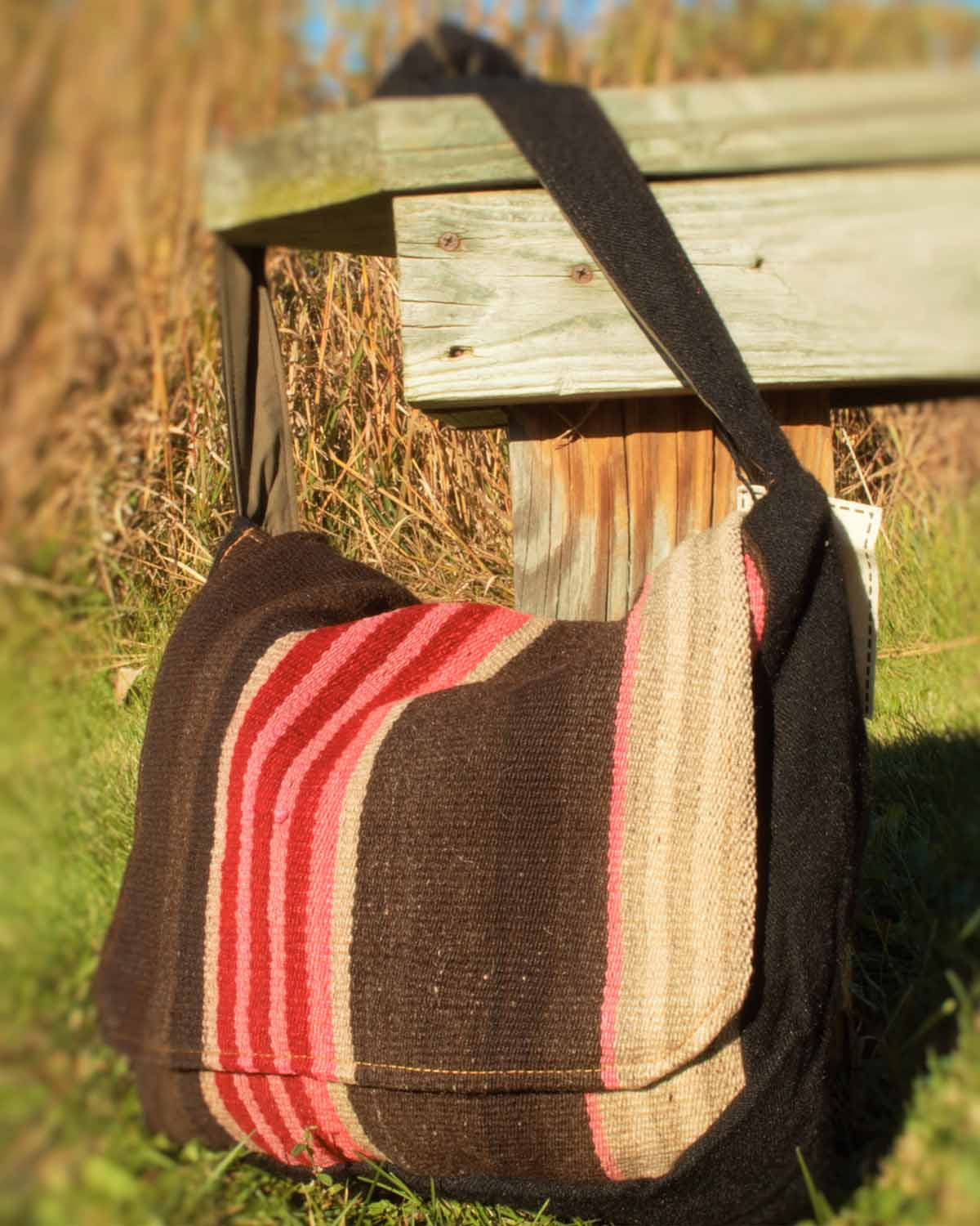 IL POSTINO MESSENGER BAG- front