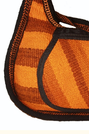 ORANGE CRUSH HAND BAG - front
