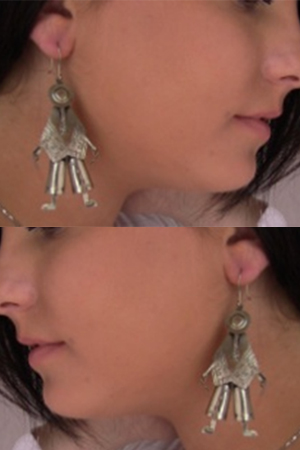 INDIA SILVER EARRINGS - front