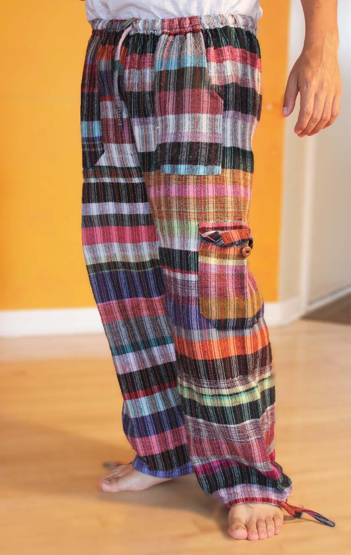 back-GHANA RELAX PANTS