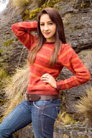 FABY ALPACA SWEATER - front