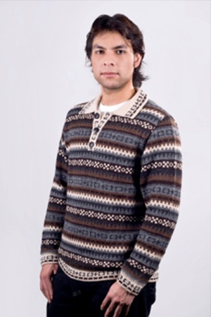 RYDER ALPACA MEN'S SWEATER - front